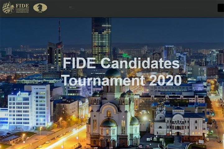 Hoy arranca el Torneo de Candidatos FIDE 2020 en Ekaterinburgo, Rusia