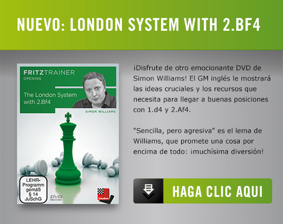Simon Williams London System with 2 Bf4