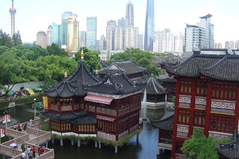 Shangh i r5 shirov gana a falta de una jornada chessbase for Le jardin yuyuan