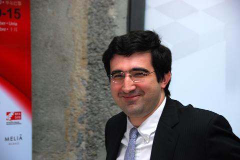 Kramnik en Bilbao 2010