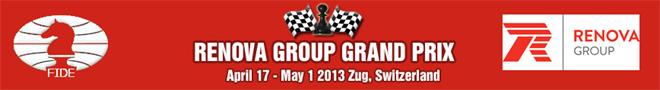 Logo Grand  Prix de la FIDE en Zug