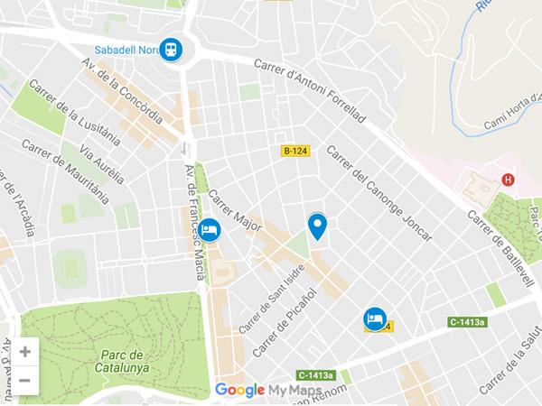 efectivo fecha aficionado cerca de Sabadell