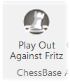 Play out against Fritz