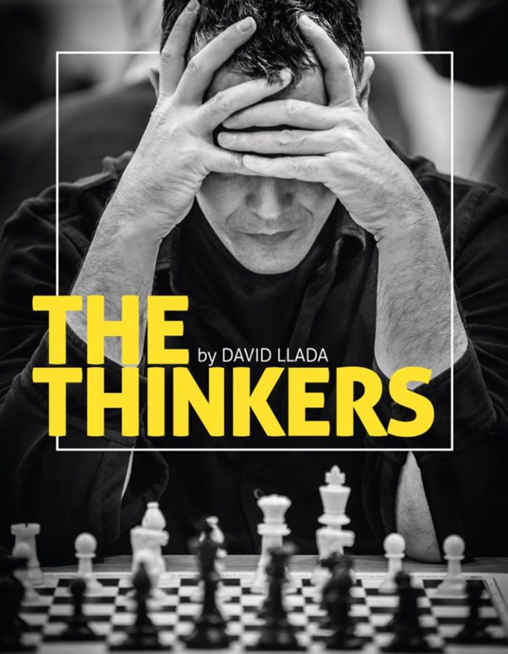 "Libro de fotografías de David Llada ""The Thinkers"""