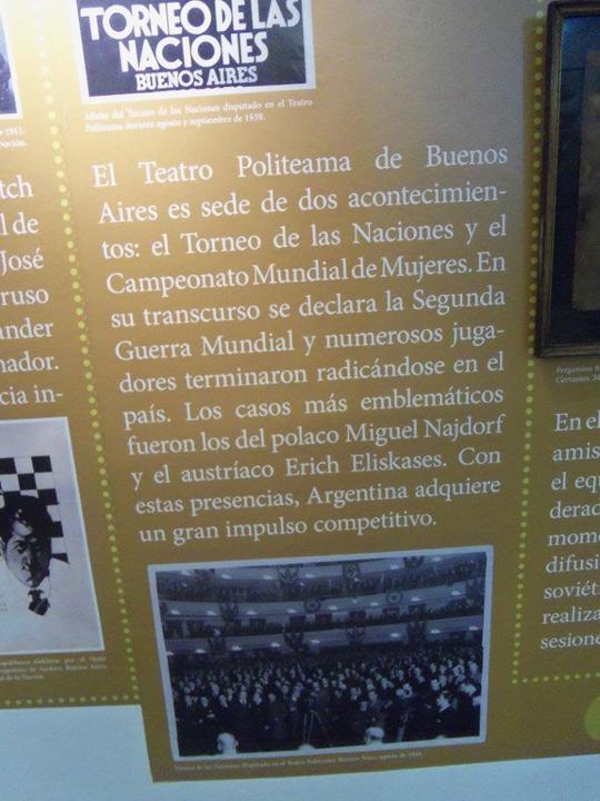 Imagen correspondiente al Torneo de las Naciones de Buenos Aires (1939) | Foto: Juan S. Morgado