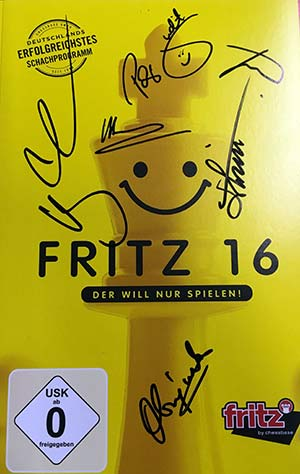 Autographed Fritz 16 cover