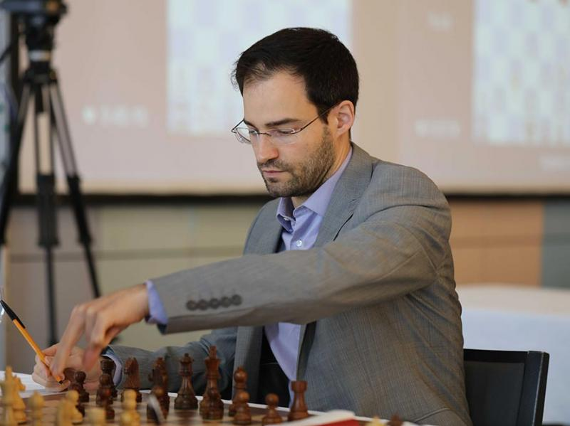 Yannick Pelletier | Foto: Niklesh Jain (ChessBase India)