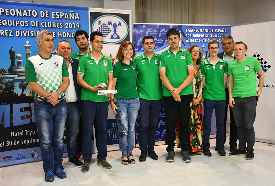 Beniajan Duo Chess, Spanish Team Chess Championship