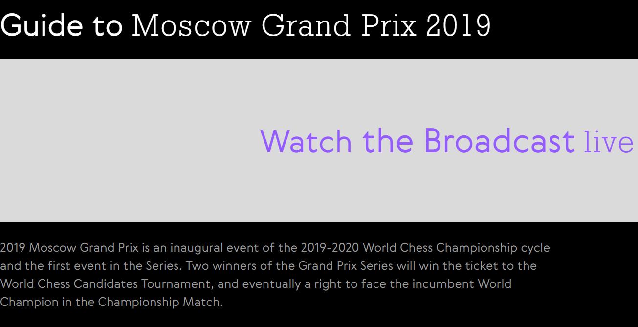 Grand Prix FIDE Moscú 2019