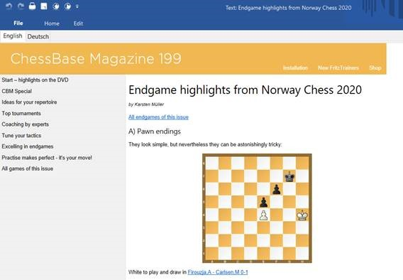 Endgame highlights from Norway Chess 2020